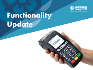Card Payments Functionality update
